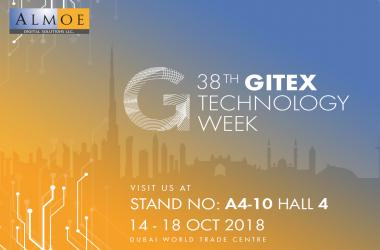 Almoe at GITEX 2018, Dubai