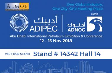 Almoe at ADIPEC 2018, Abu Dhabi