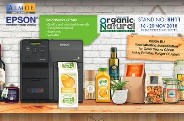 Almoe at Organic & Natural Product Expo 2018, Dubai