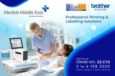Visit us at Medlab Middle East 3-6 Feb 2020
